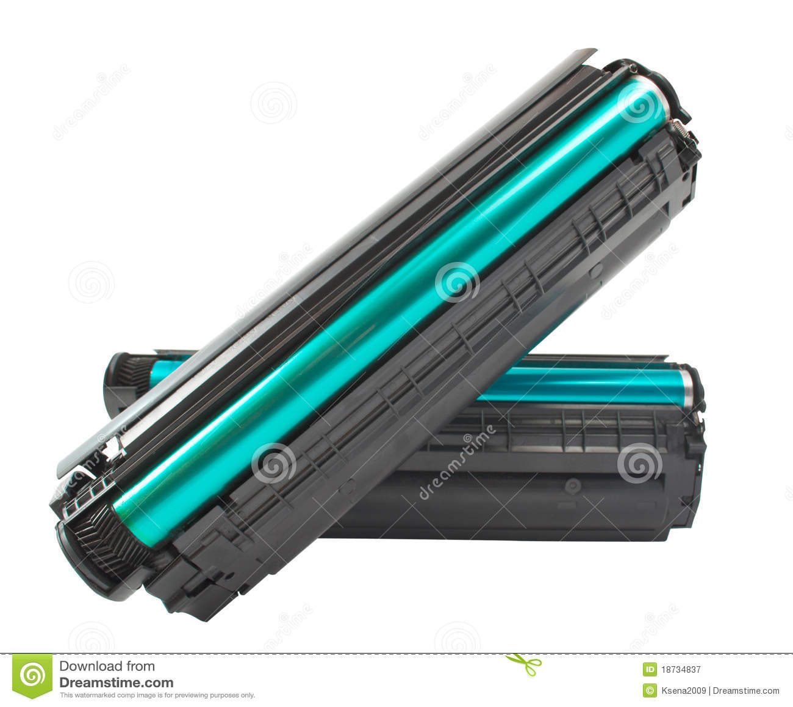 Cartucho para a impressora de laser