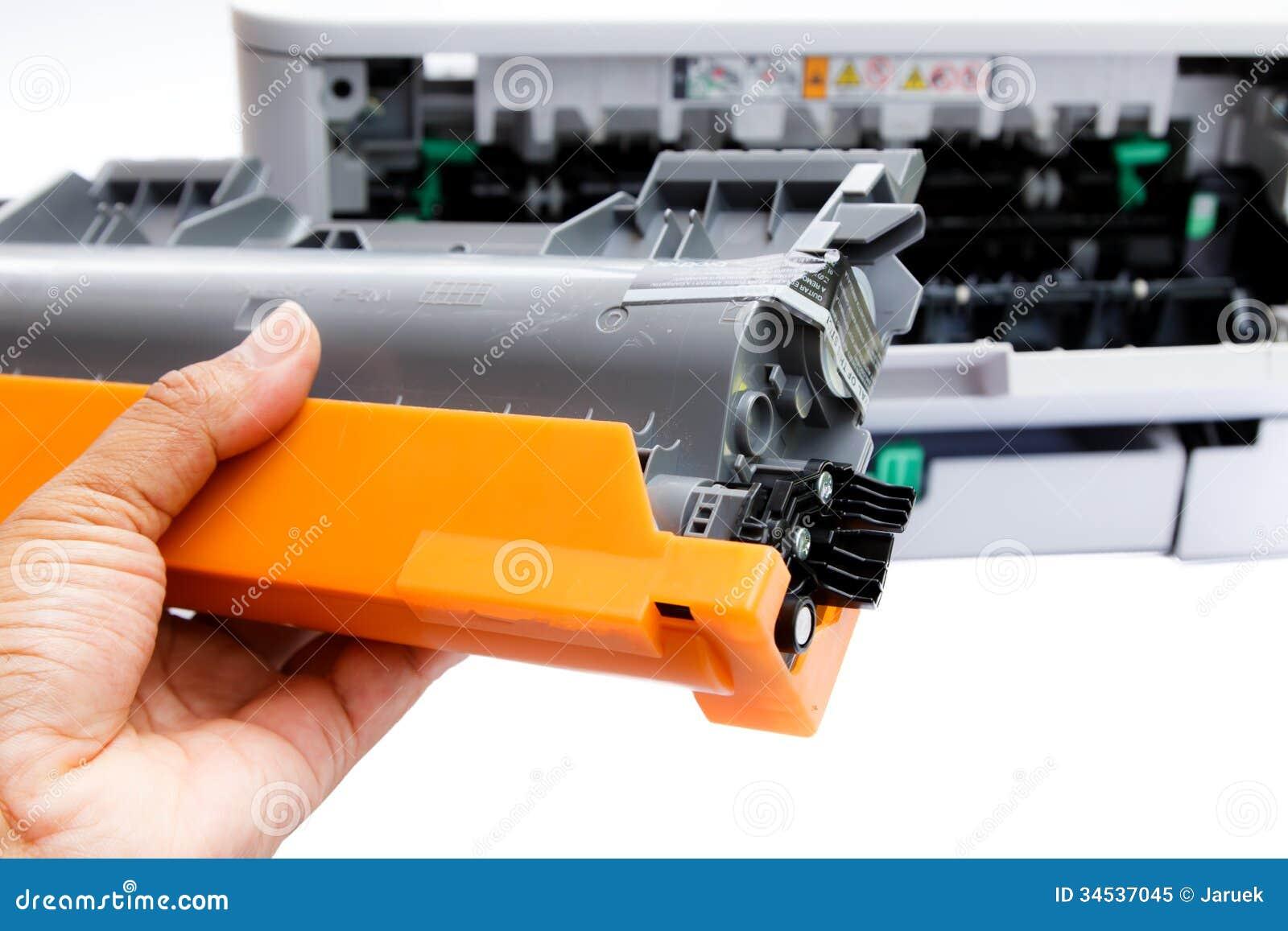 Cartucho para a impressora a laser