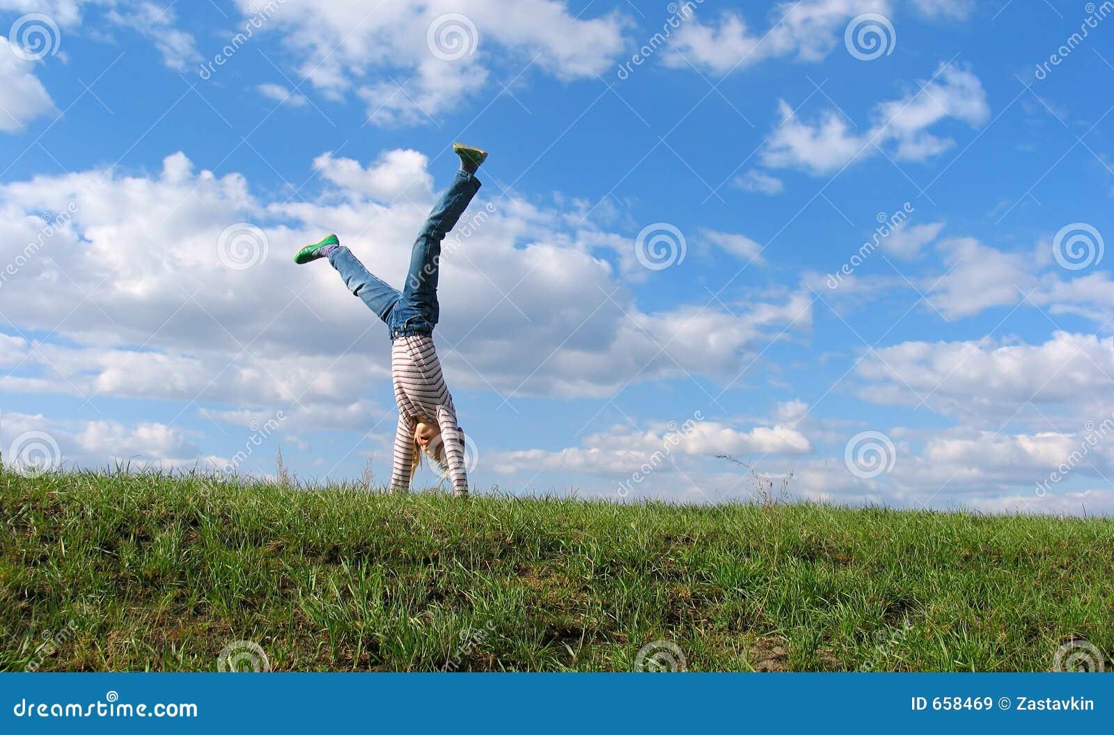 Cartwheel di estate