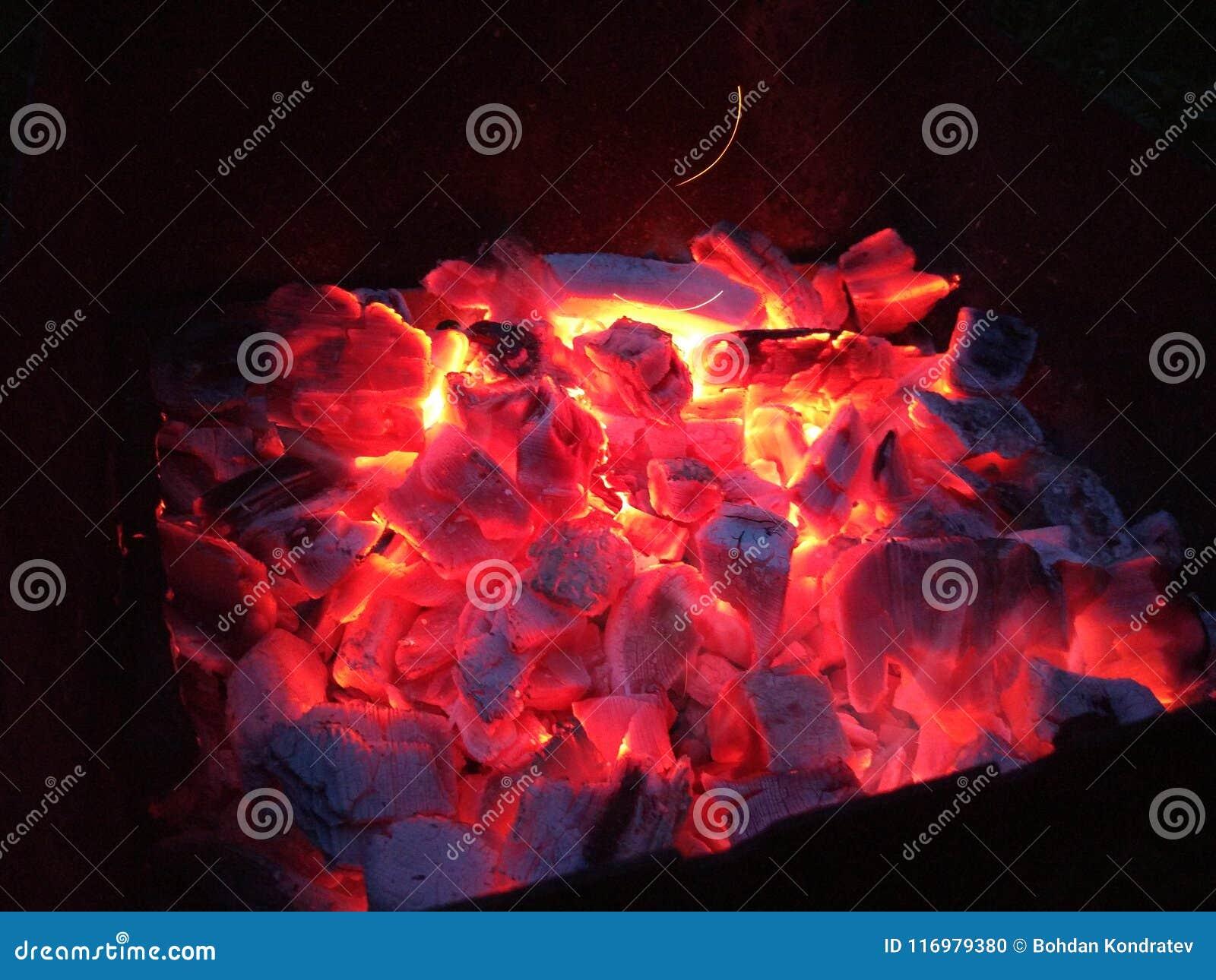 Carvões do BBQ