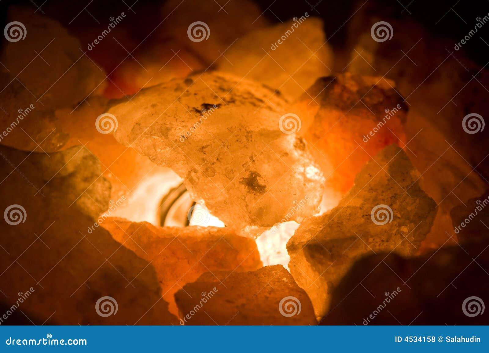 Carvões no incêndio