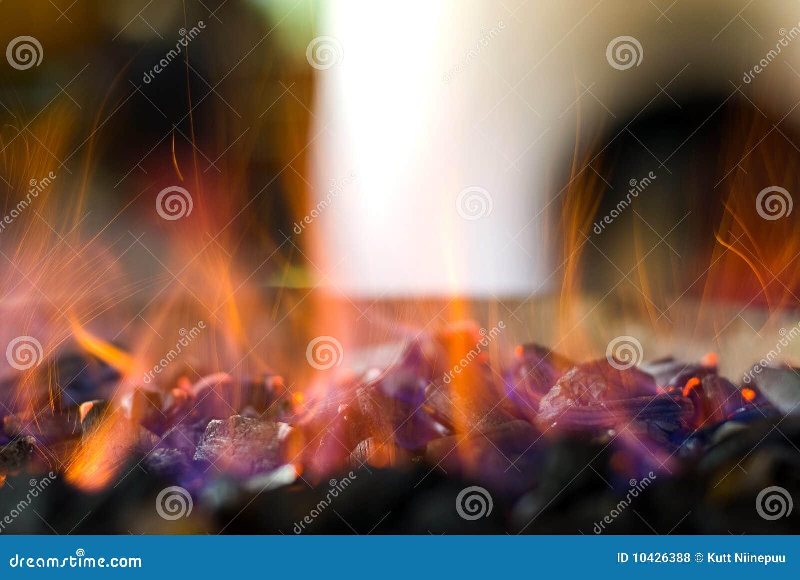 Carvões quentes Sparkling