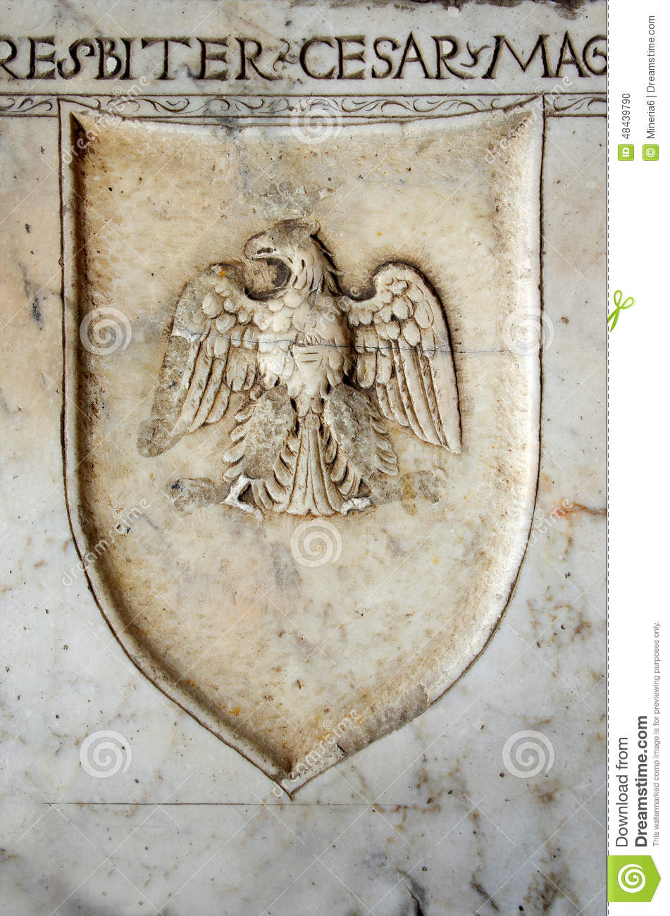 Carved Eagle Stock Photo Image 48439790