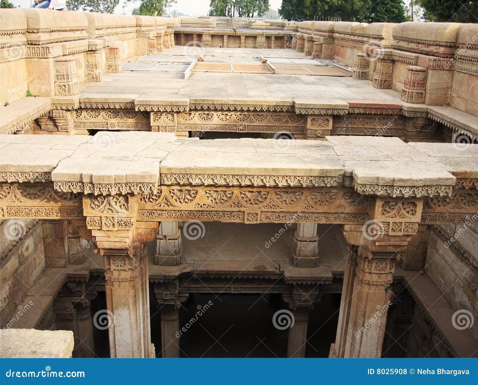 Ancient Stone Pillars : Carved stone pillars royalty free stock photos image