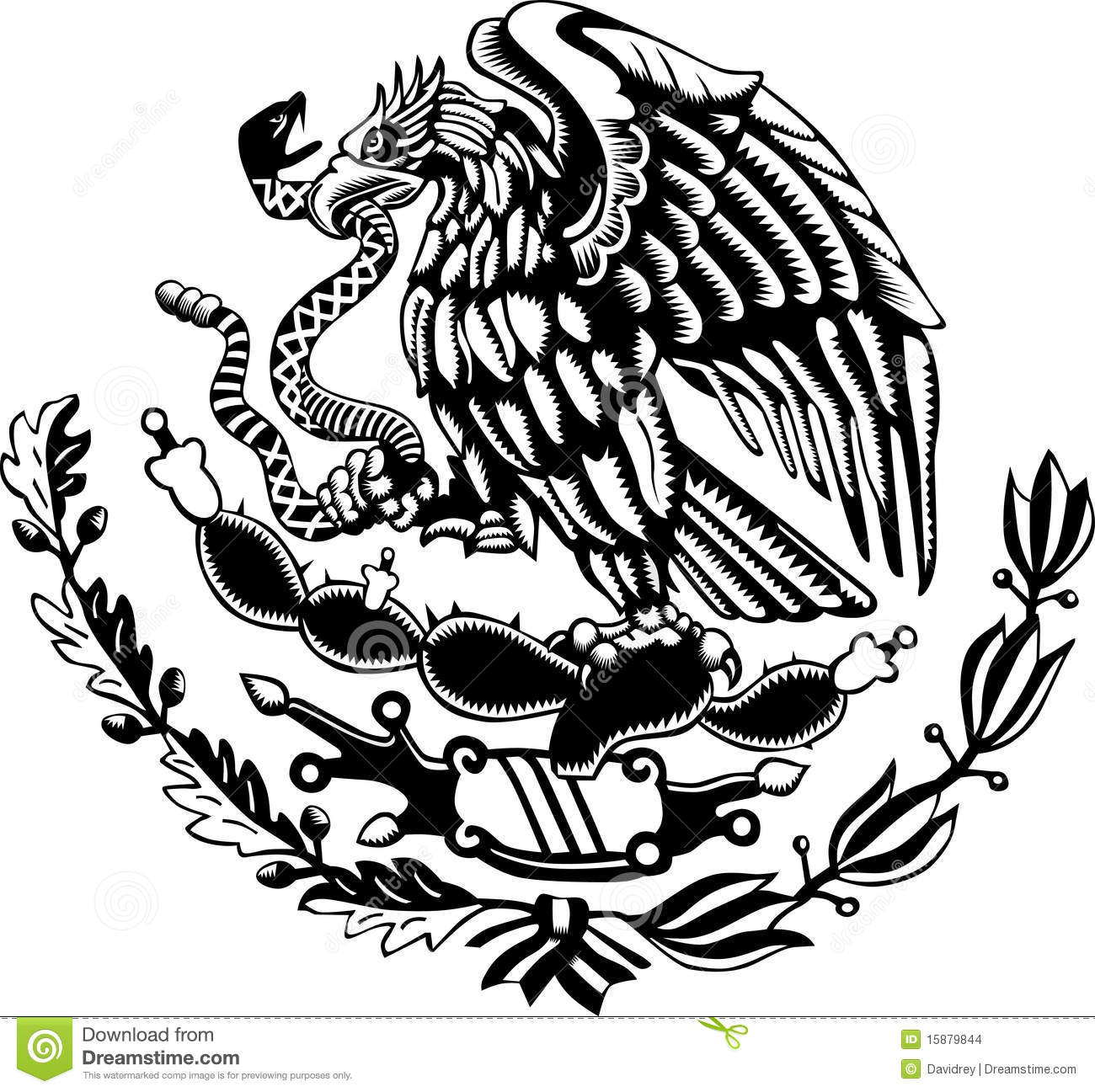 picture about Mexican Flag Eagle Printable called Mexican Flag Eagle Printable - iwate-kokyo