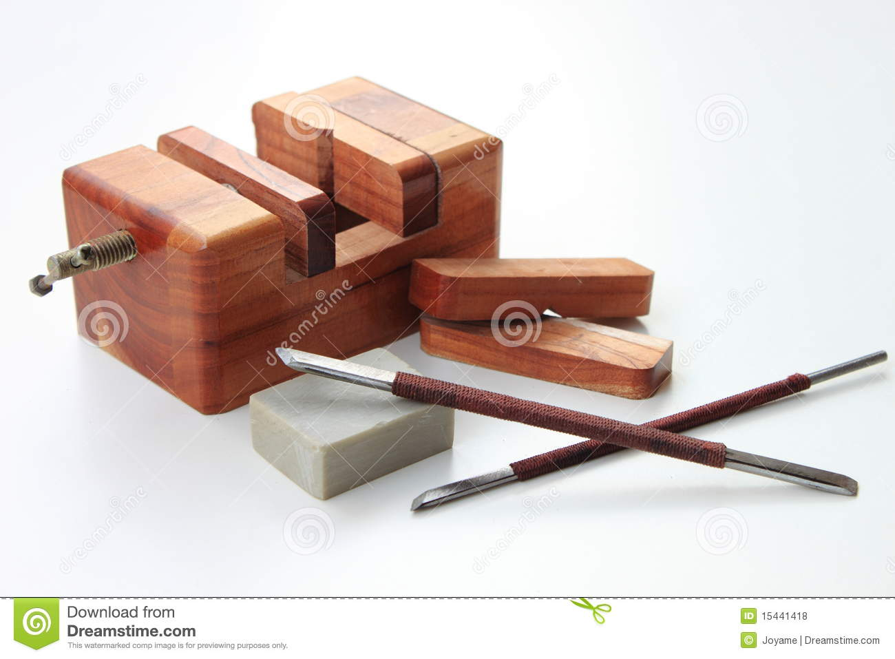 Carving tools royalty free stock photos image