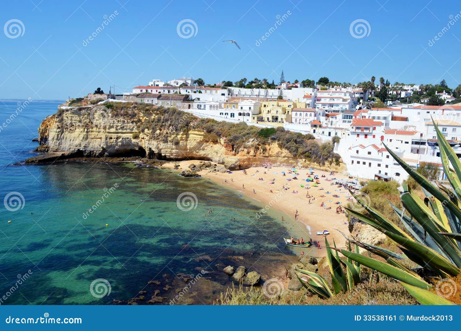 Download Carvoeiro Algarve stock image. Image of portimao, beach - 33538161