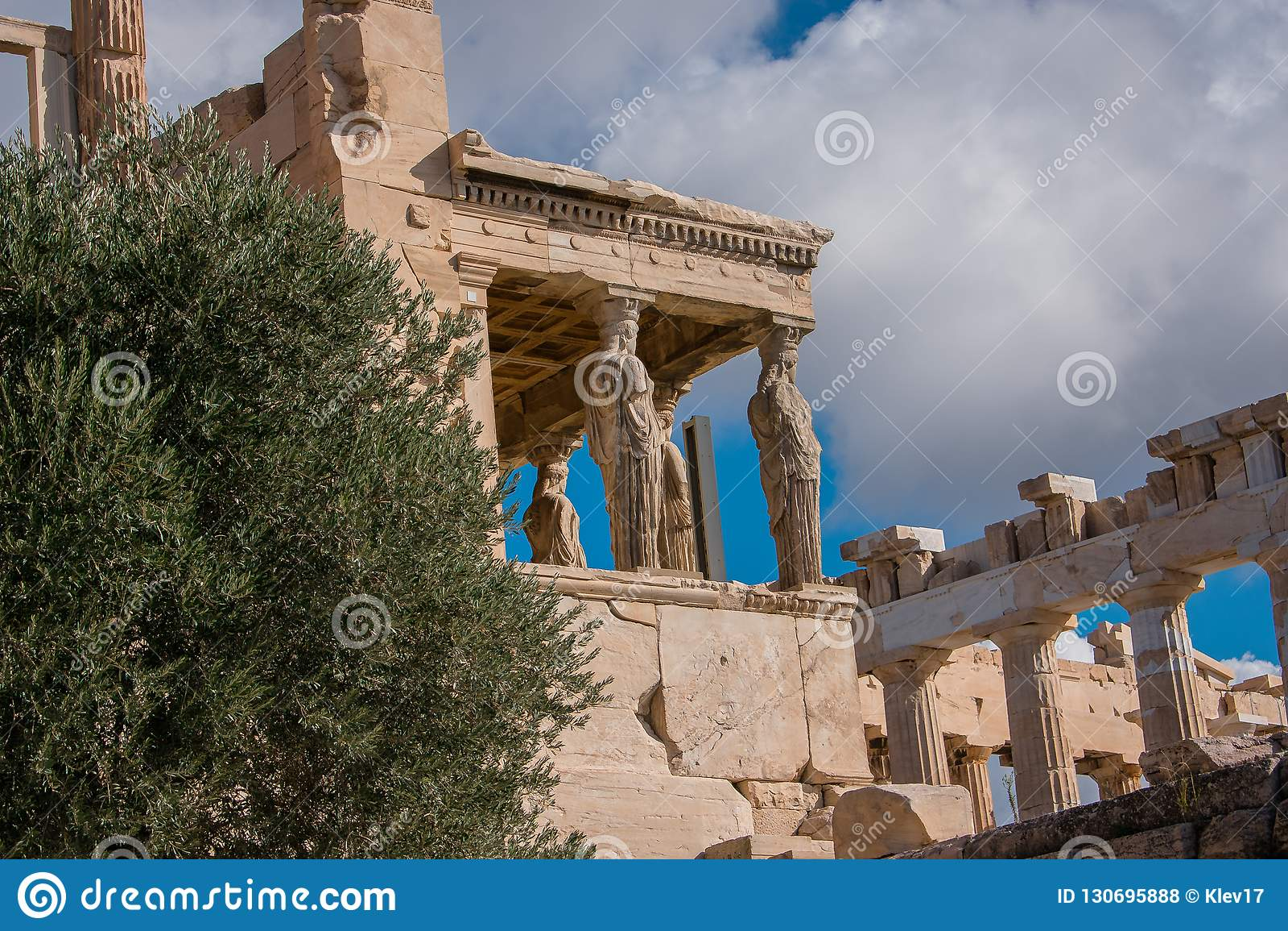 Caryatids of Acropolis
