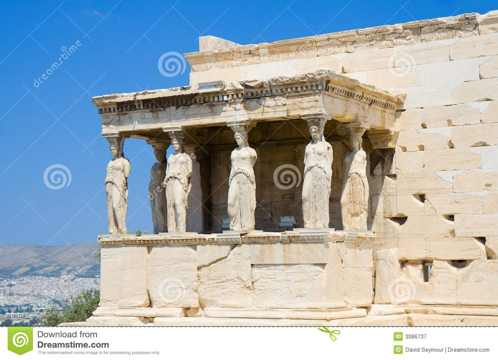 Caryatids at Athens