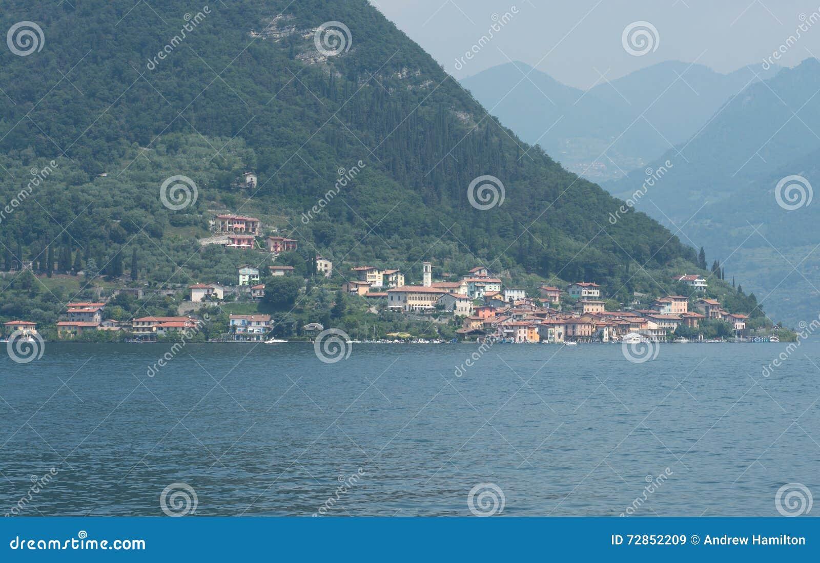 Carzano-Dorf Monte Isola Iseo Italy