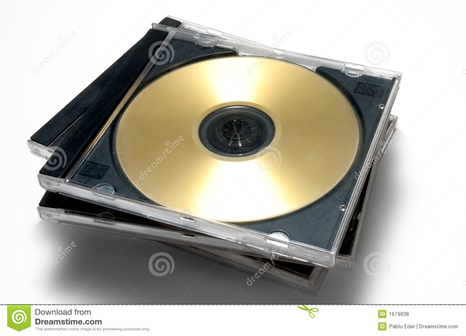 Cas de CD/DVD