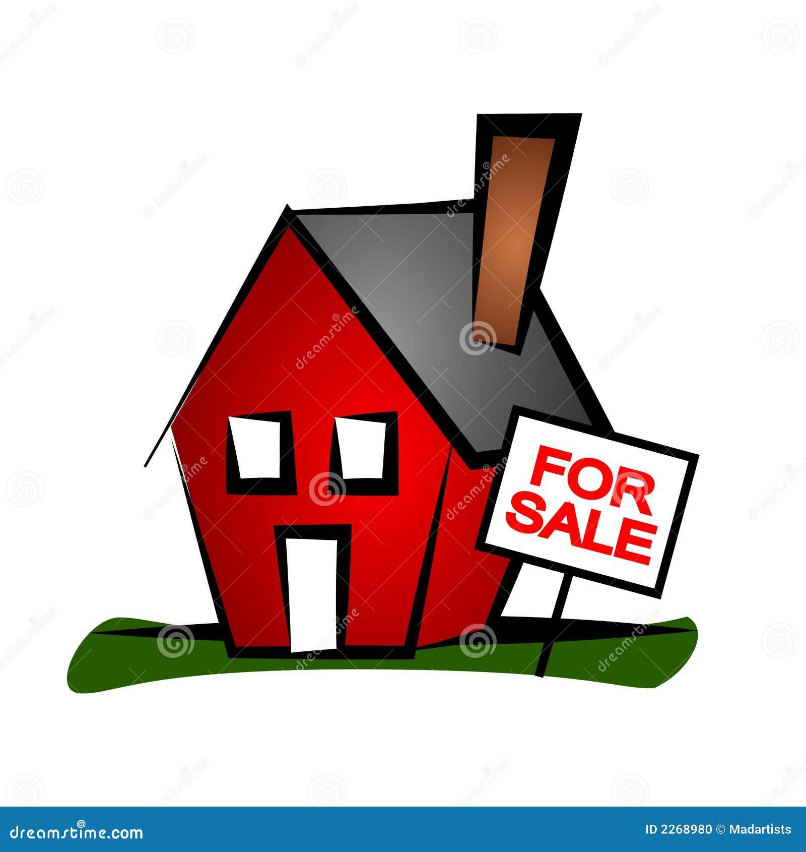 Casa 3 del arte de clip de las propiedades inmobiliarias
