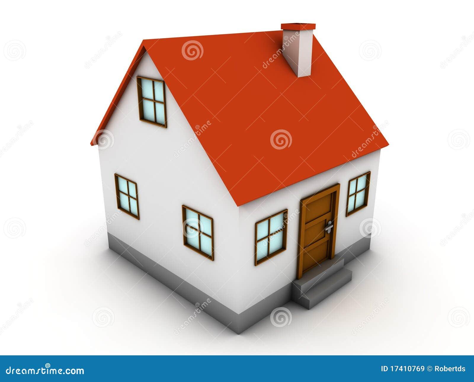 Casa 3d imagens de stock royalty free imagem 17410769 for Casas 3d