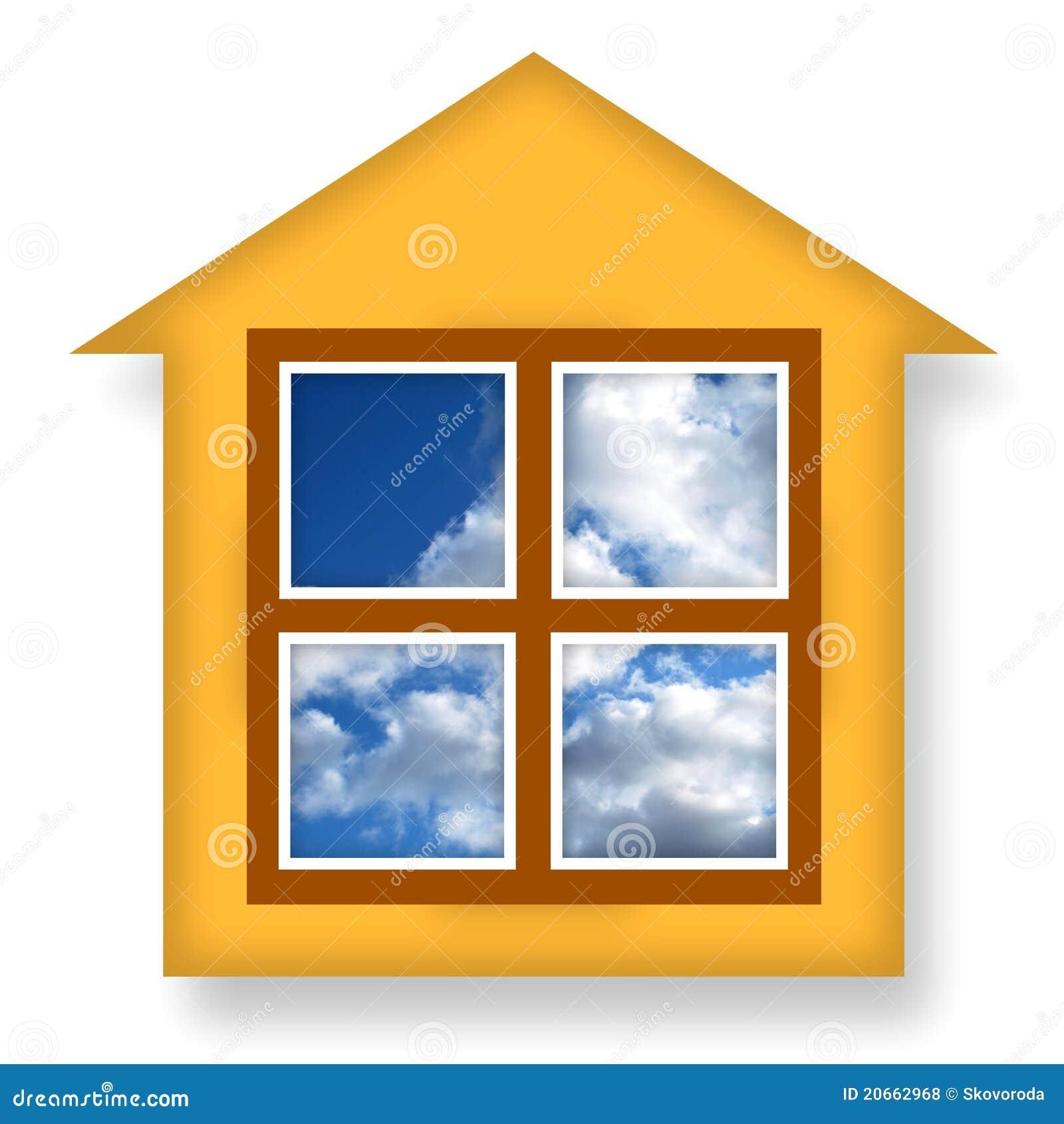 Casa accogliente fotografie stock libere da diritti - Casa accogliente ...