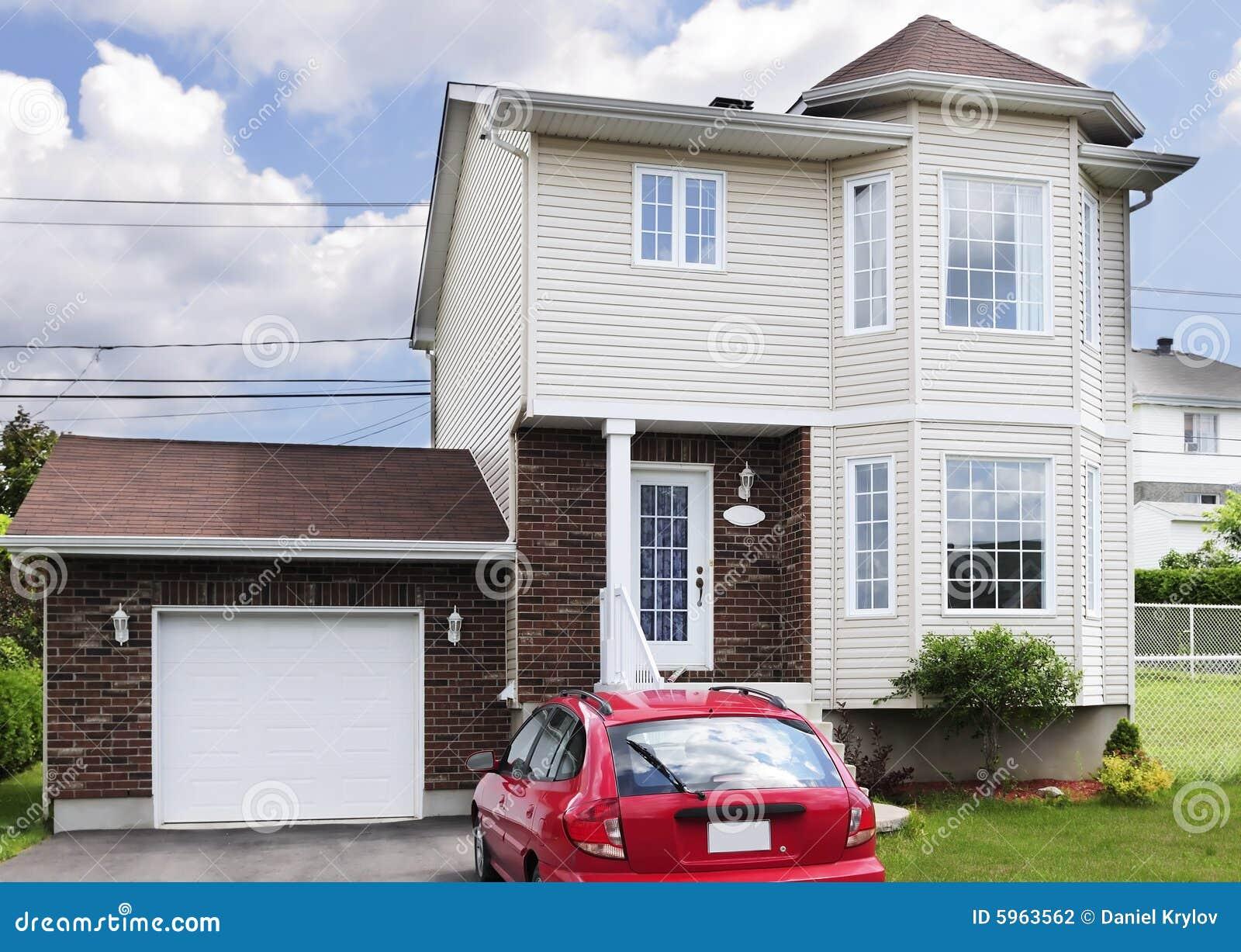 Casa americana fotografia de stock imagem 5963562 for Piani casa americana