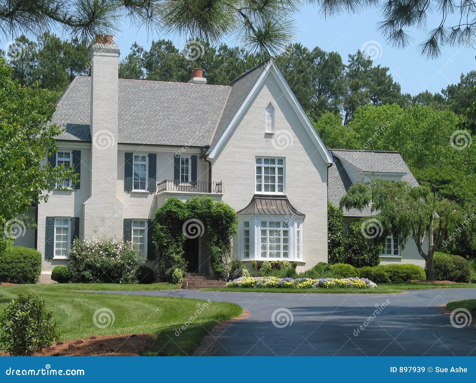 casa americana imagens de stock royalty free imagem 897939