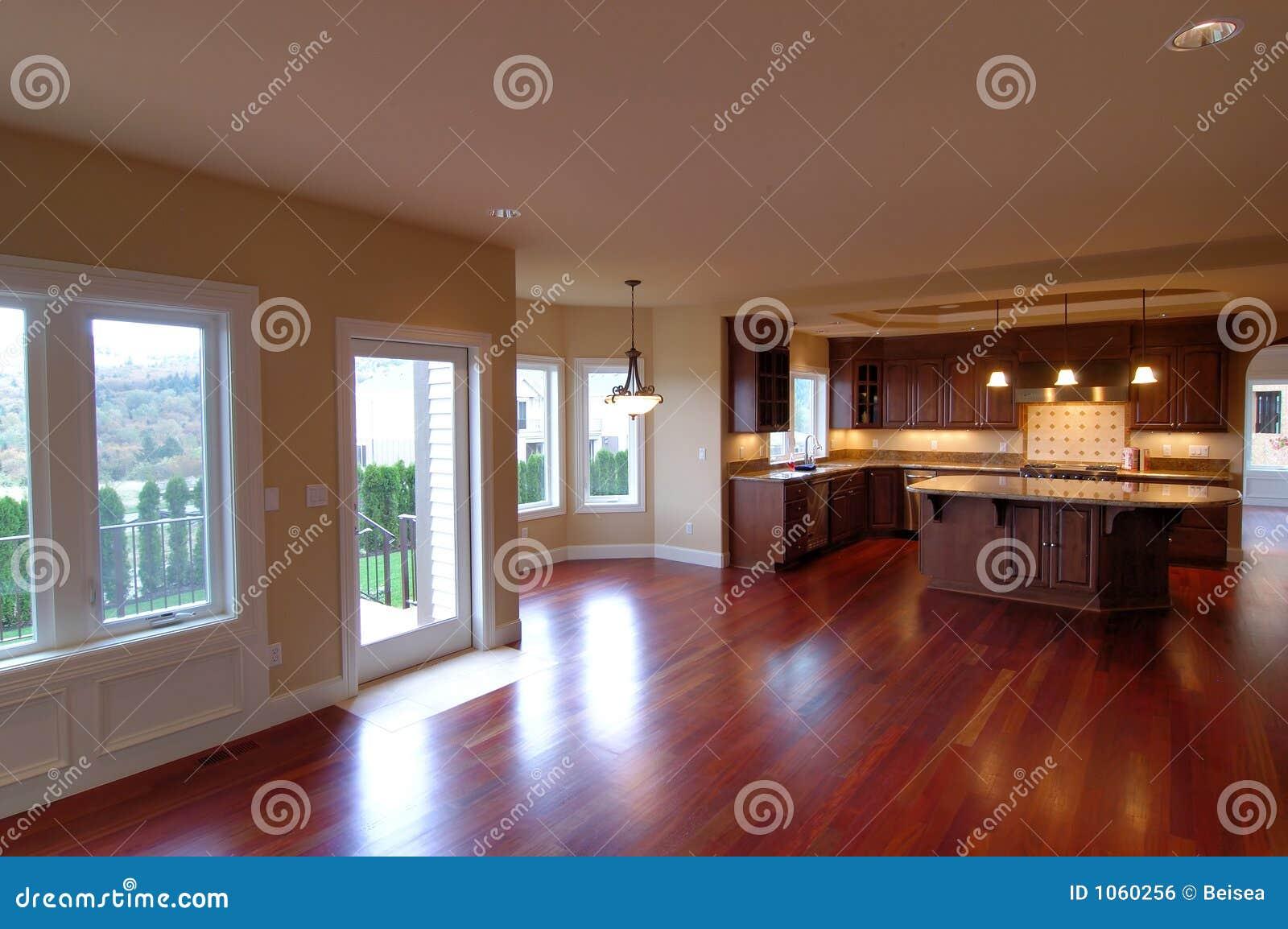 Casa americana luxuosa no 3 interior imagem de stock for Casa moderna americana