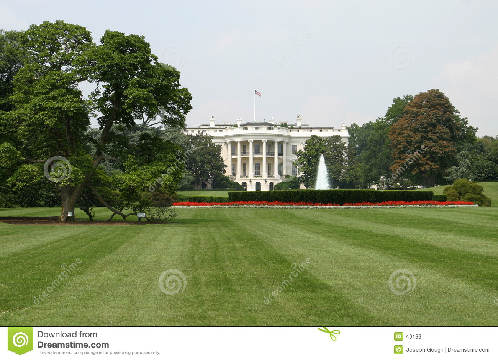 A casa branca, traseira