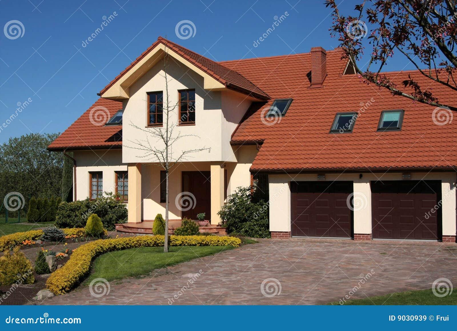 casa classica immagine stock immagine di propriet class