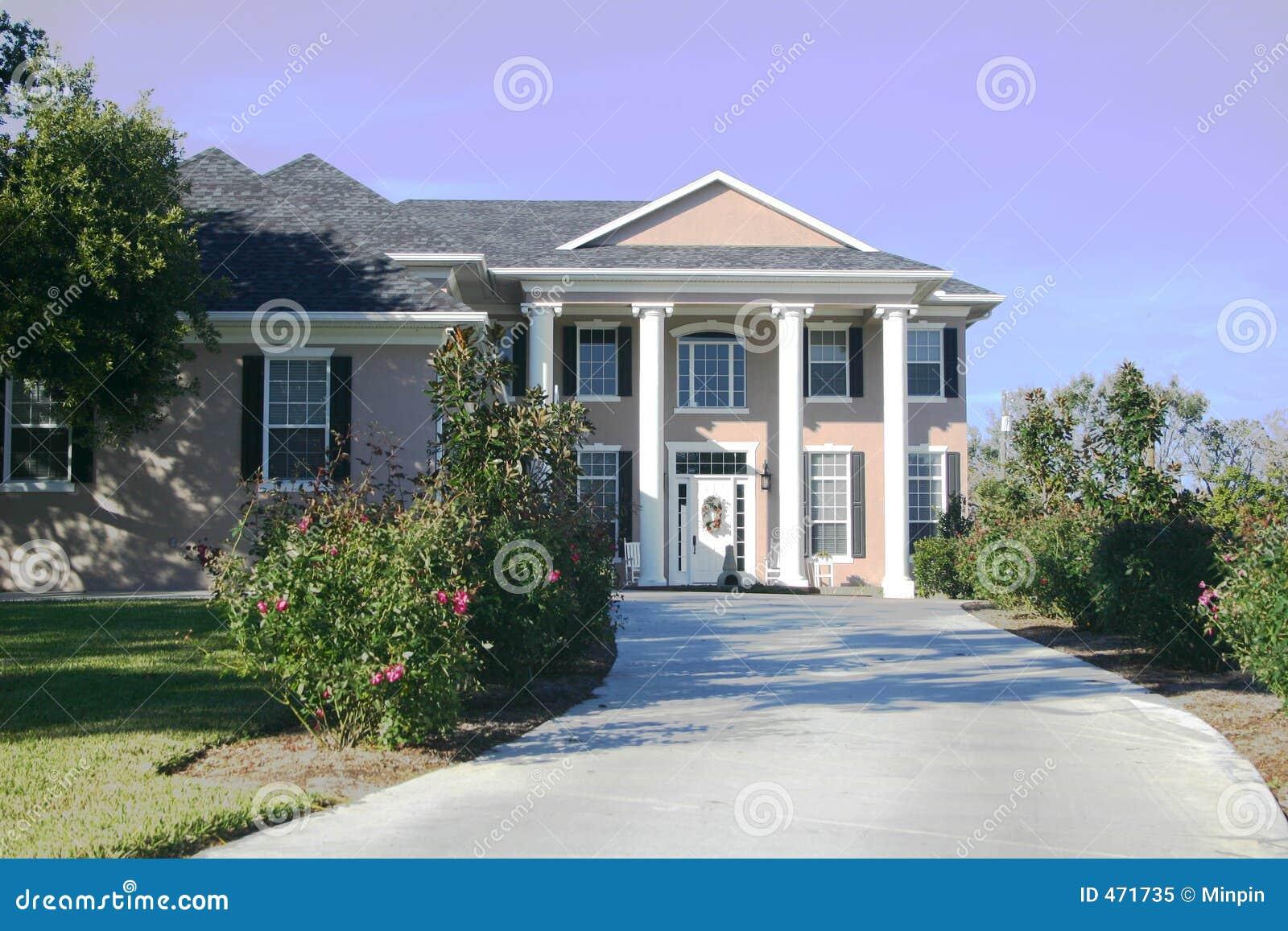 casa coloniale immagine stock immagine di mansion