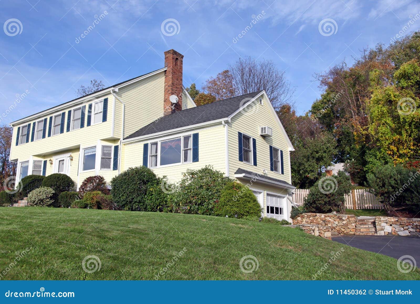 casa coloniale di stile fotografia stock immagine 11450362
