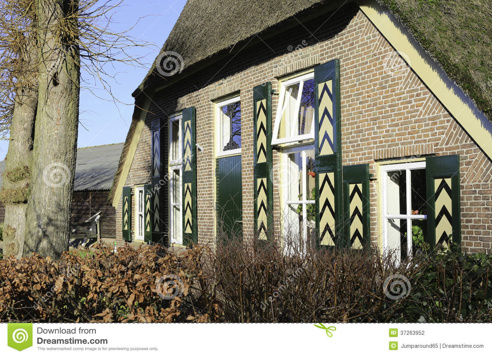 Casa da quinta holandesa