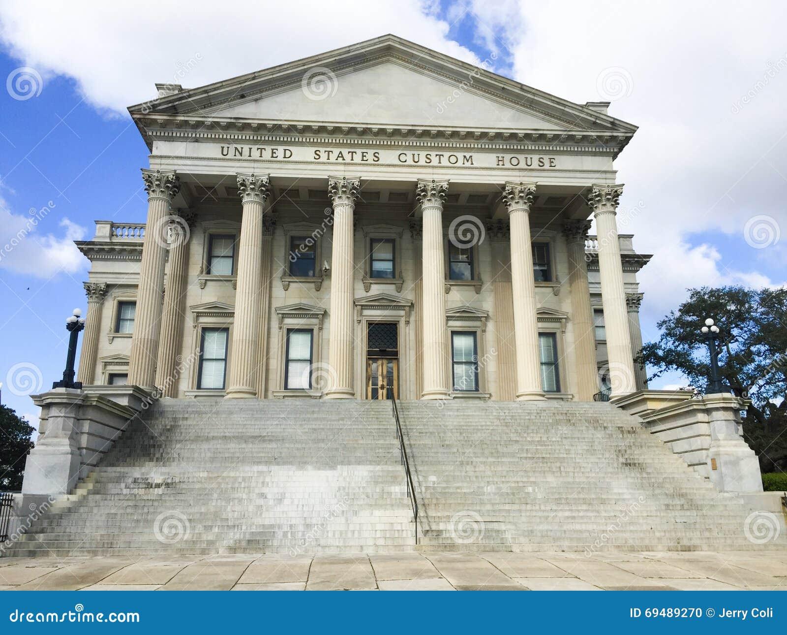 Casa de alfândega do Estados Unidos, Charleston, SC