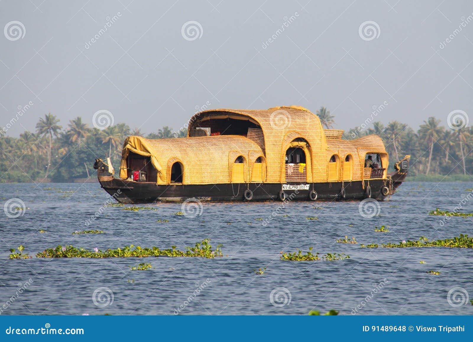 Casa de barco em Kumarakom, Kerala