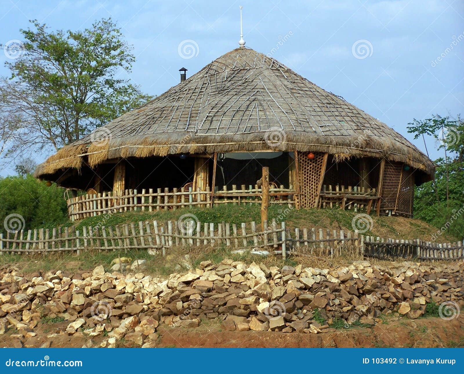 Casa de campo étnica