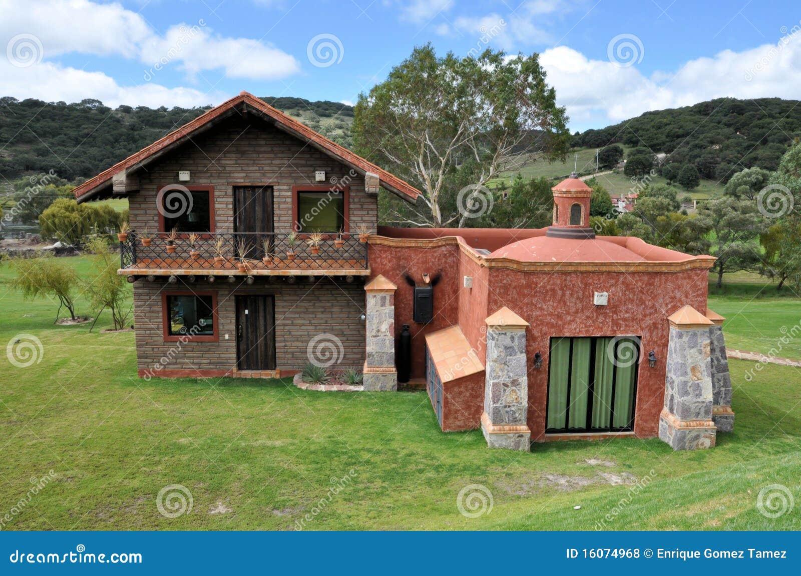 Casa de campo foto de archivo imagen de rancho aislado 16074968 - Imagenes de casas de campo ...