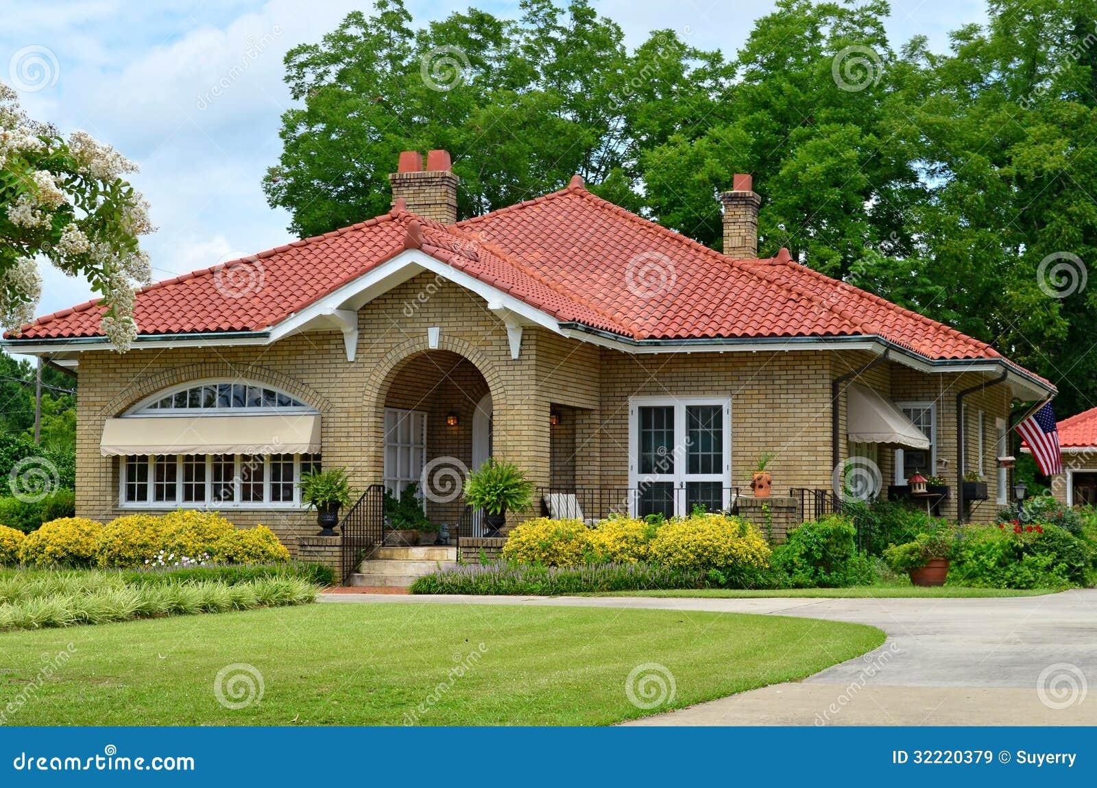 Casa De Campo Americana Original Do Pas Origem Imagens