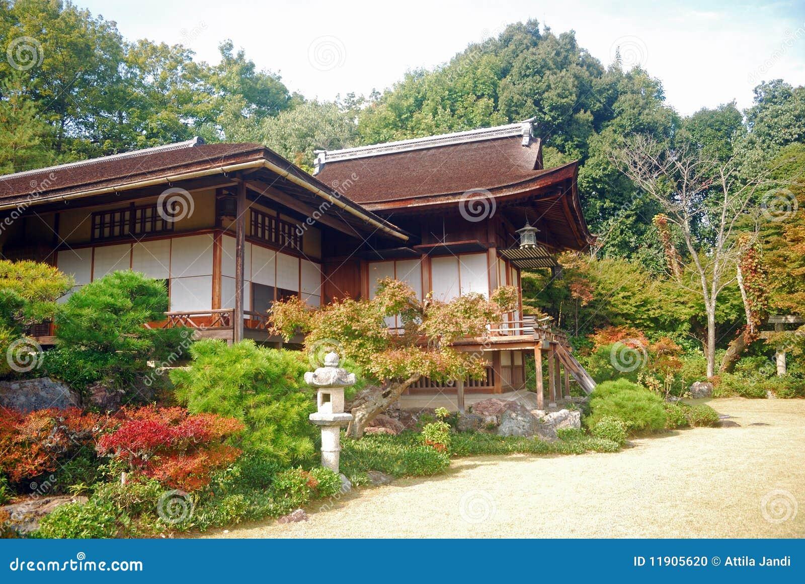 Casa de campo de Okochi Sanso, Kyoto, Japão