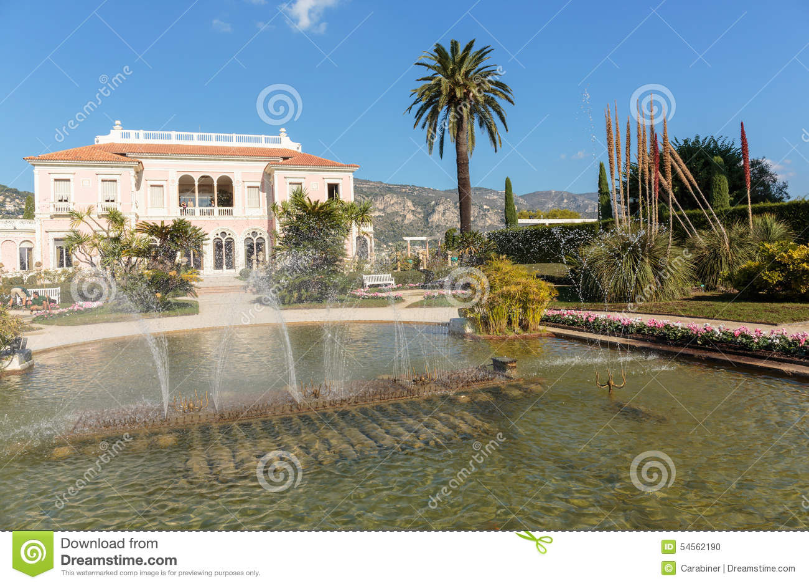 Casa de campo Ephrussi de Rothschild