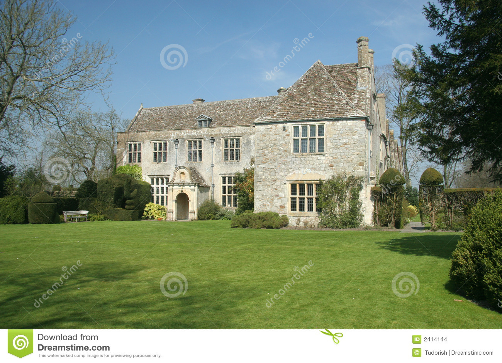 Casa de campo inglesa foto de archivo imagen de mansi n 2414144 - Imagenes de casas inglesas ...