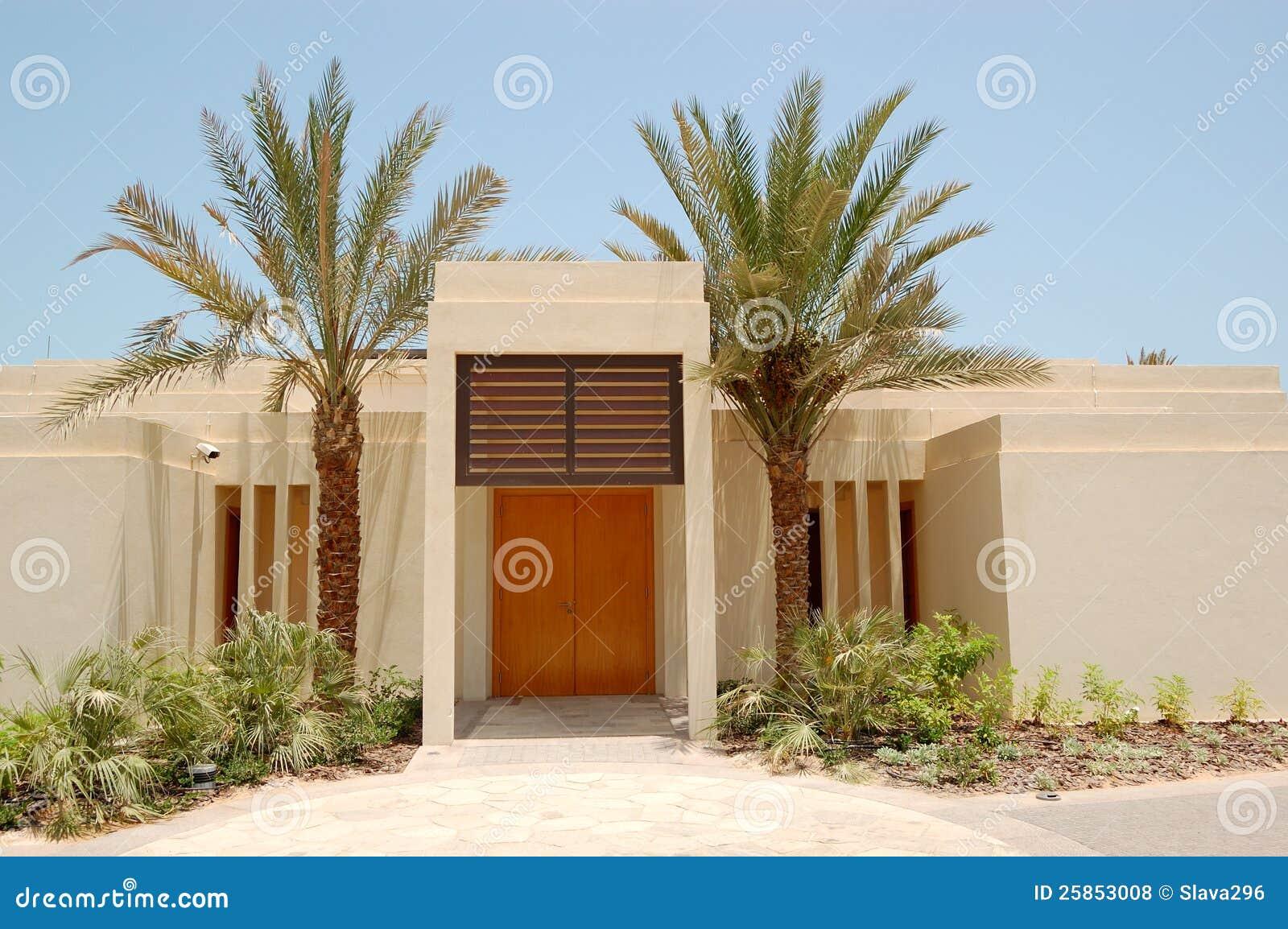 A casa de campo moderna do estilo rabe no hotel de luxo - Casas estilo arabe ...