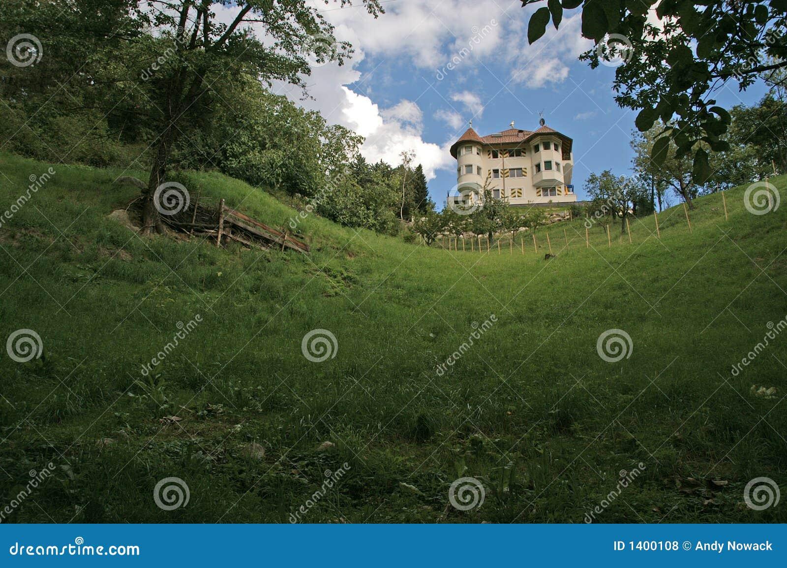 Casa de campo no monte