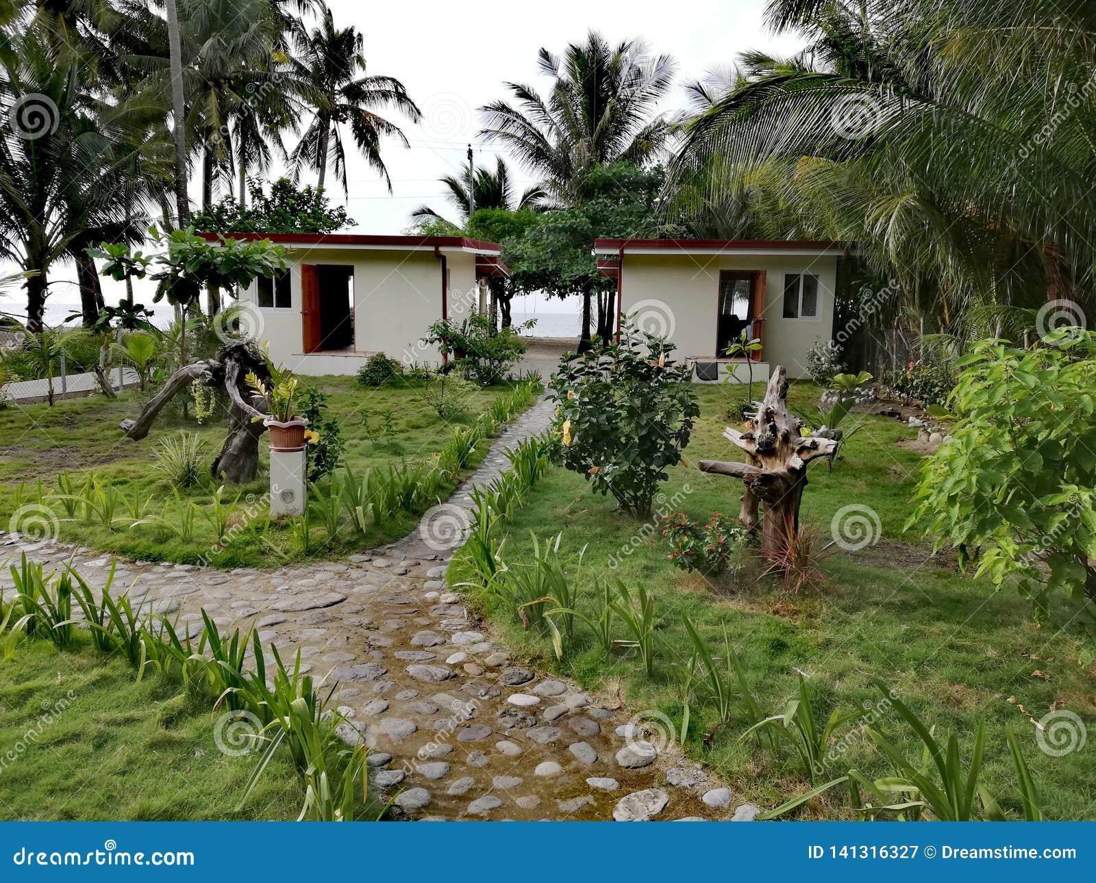 Casa de férias na ilha tropical