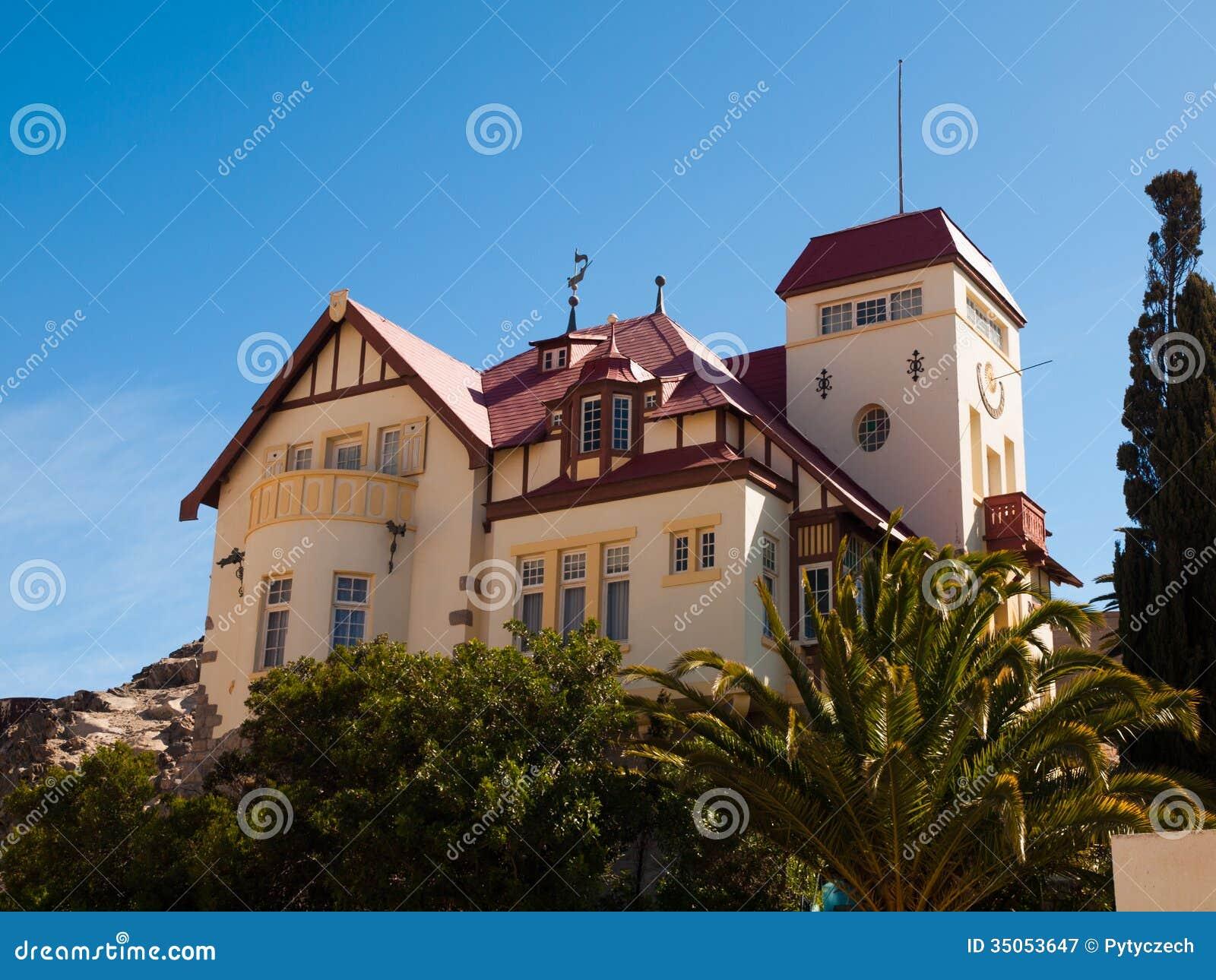 Casa de Goerke em Luderitz