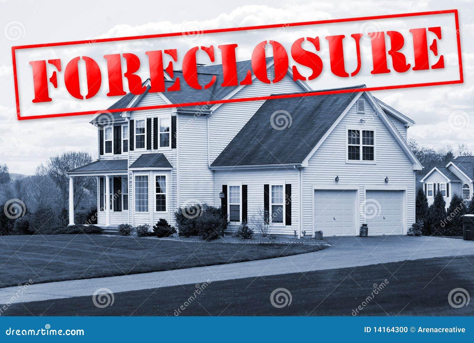 Casa de la ejecución de una hipoteca