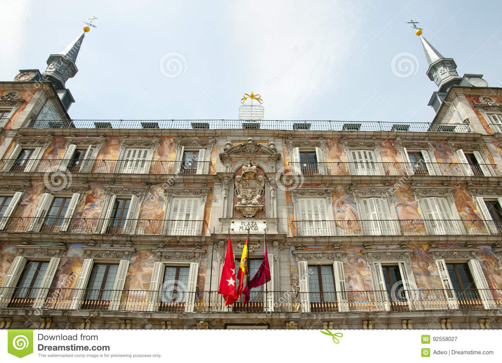 Casa de la Panaderia - Madrid - la Spagna