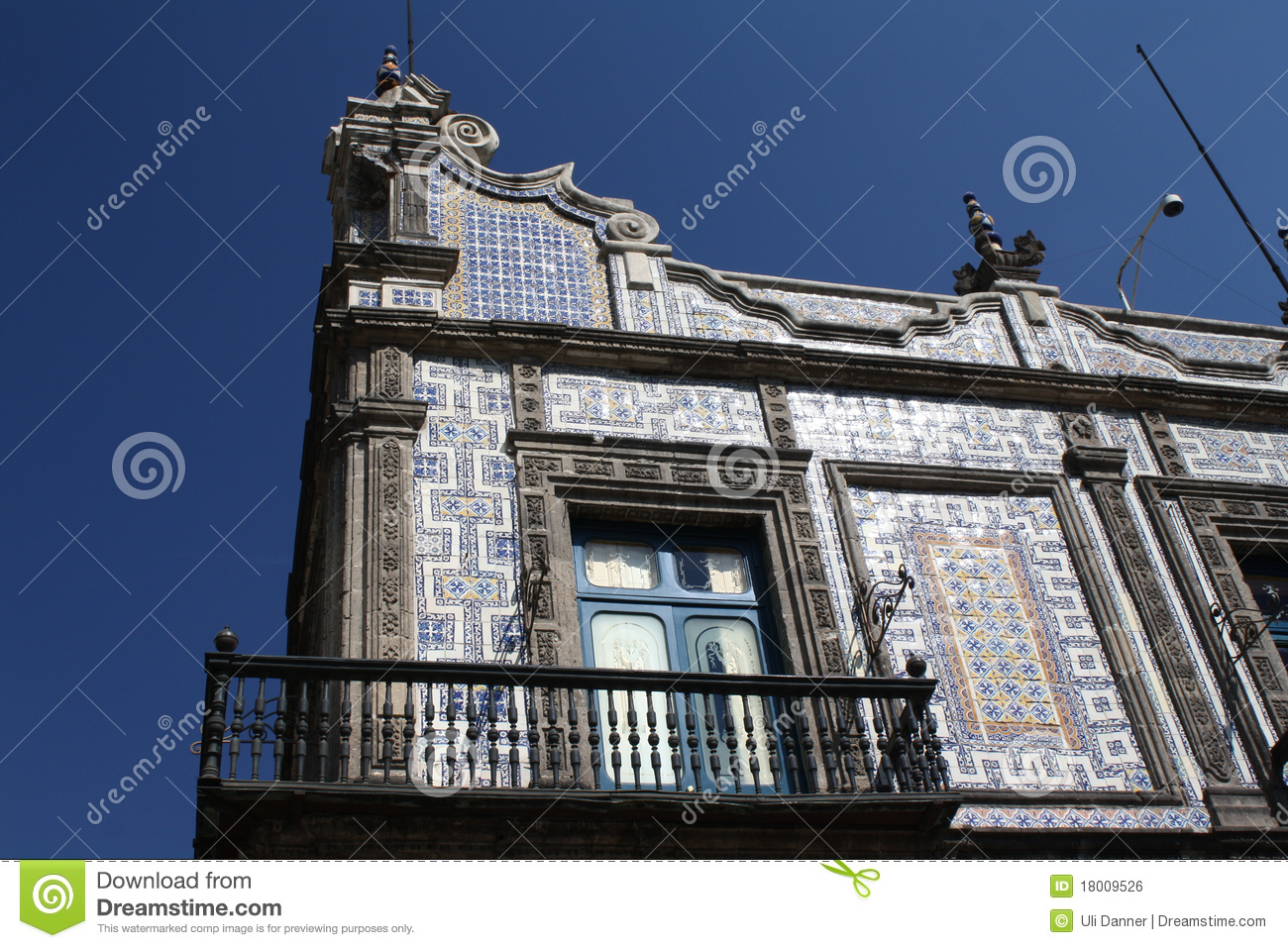 Casa de los azulejos mexico city stock photo image for Azulejos mexico