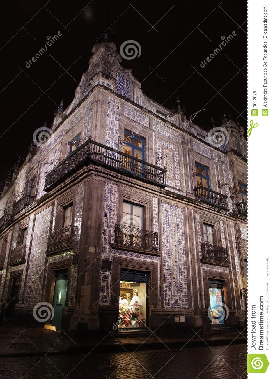 Casa de los azulejos mexico city royalty free stock photos for Rusticae casa de los azulejos