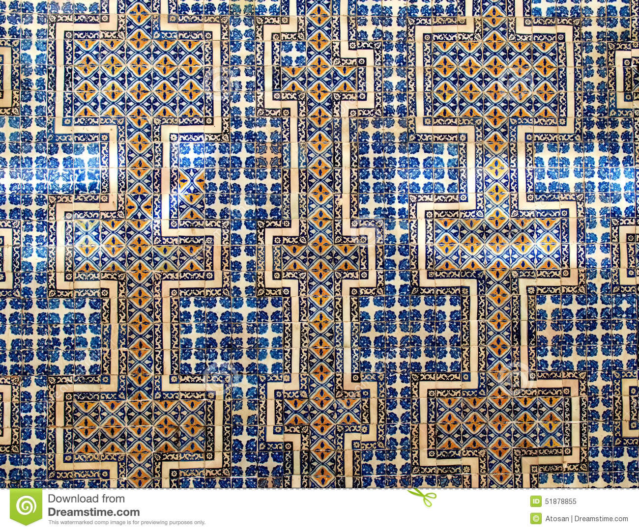 Casa De Azulejos Of The Casa De Los Azulejos Wall Stock Photo Image 51878855