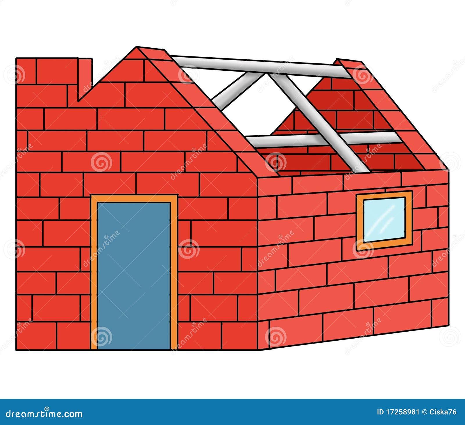 Casa de los ladrillos imagen de archivo imagen 17258981 - Precios de ladrillos para construccion ...
