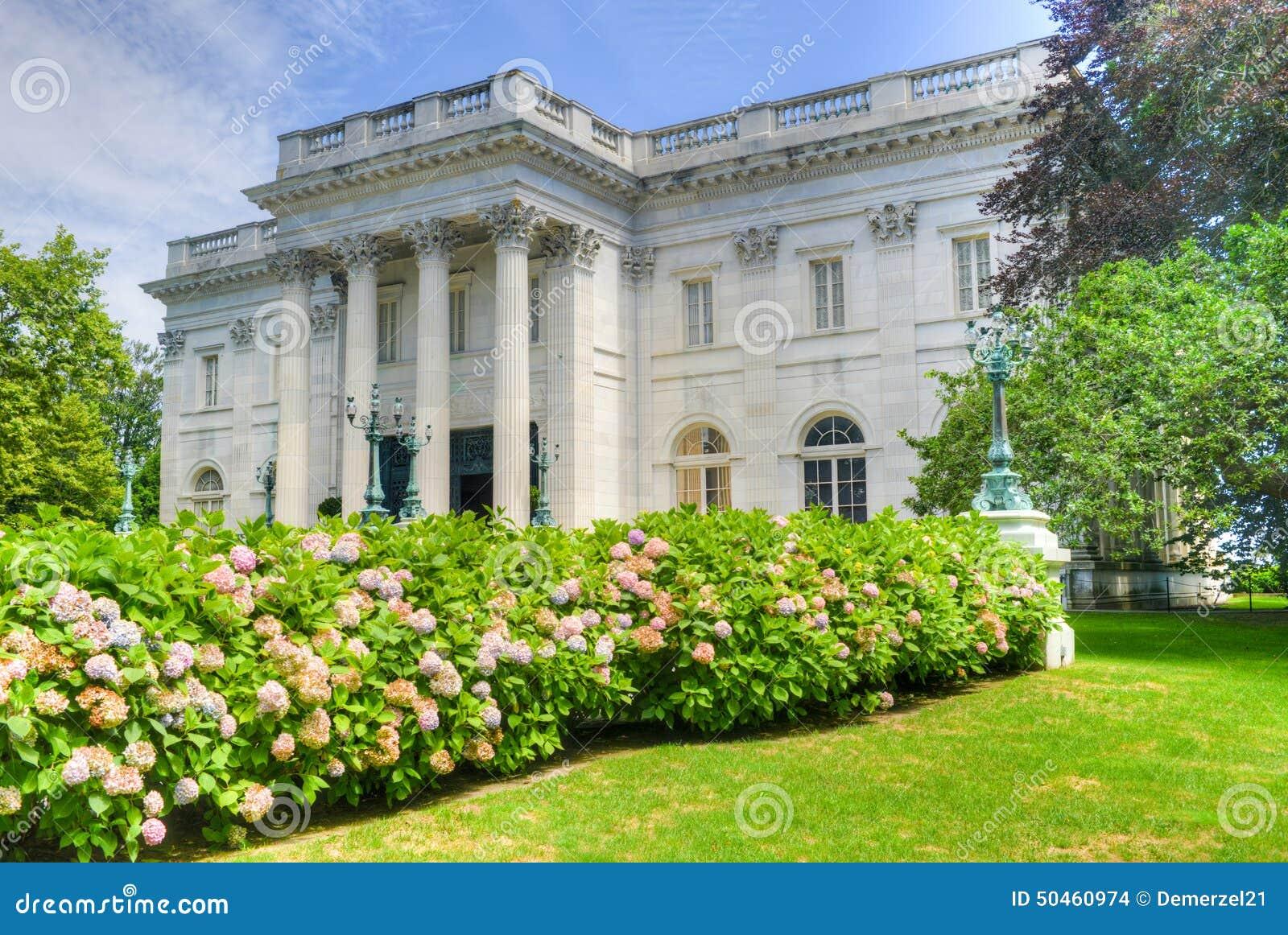 A casa de mármore - Newport, Rhode Island