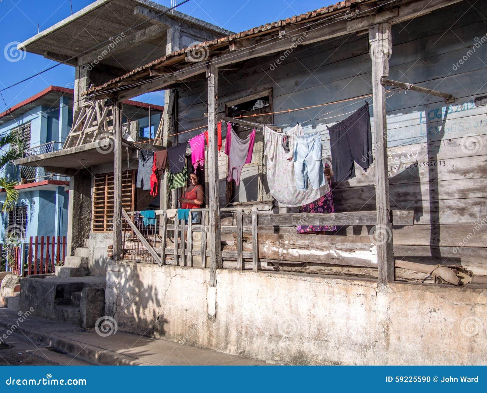 Casa de madera vieja de Baracoa