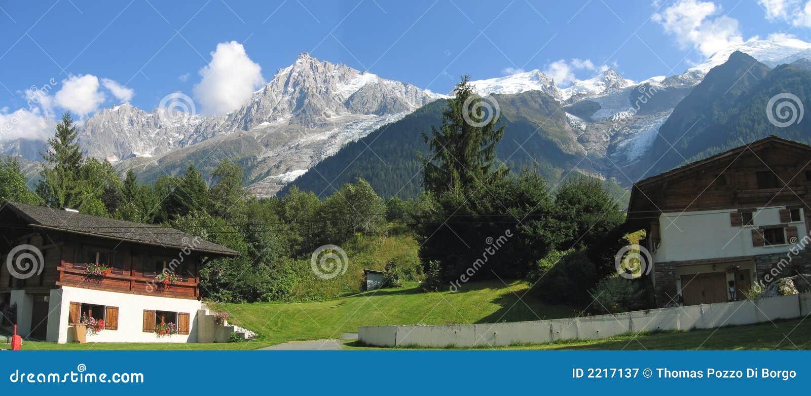Casa de Moutain en el Chamonix