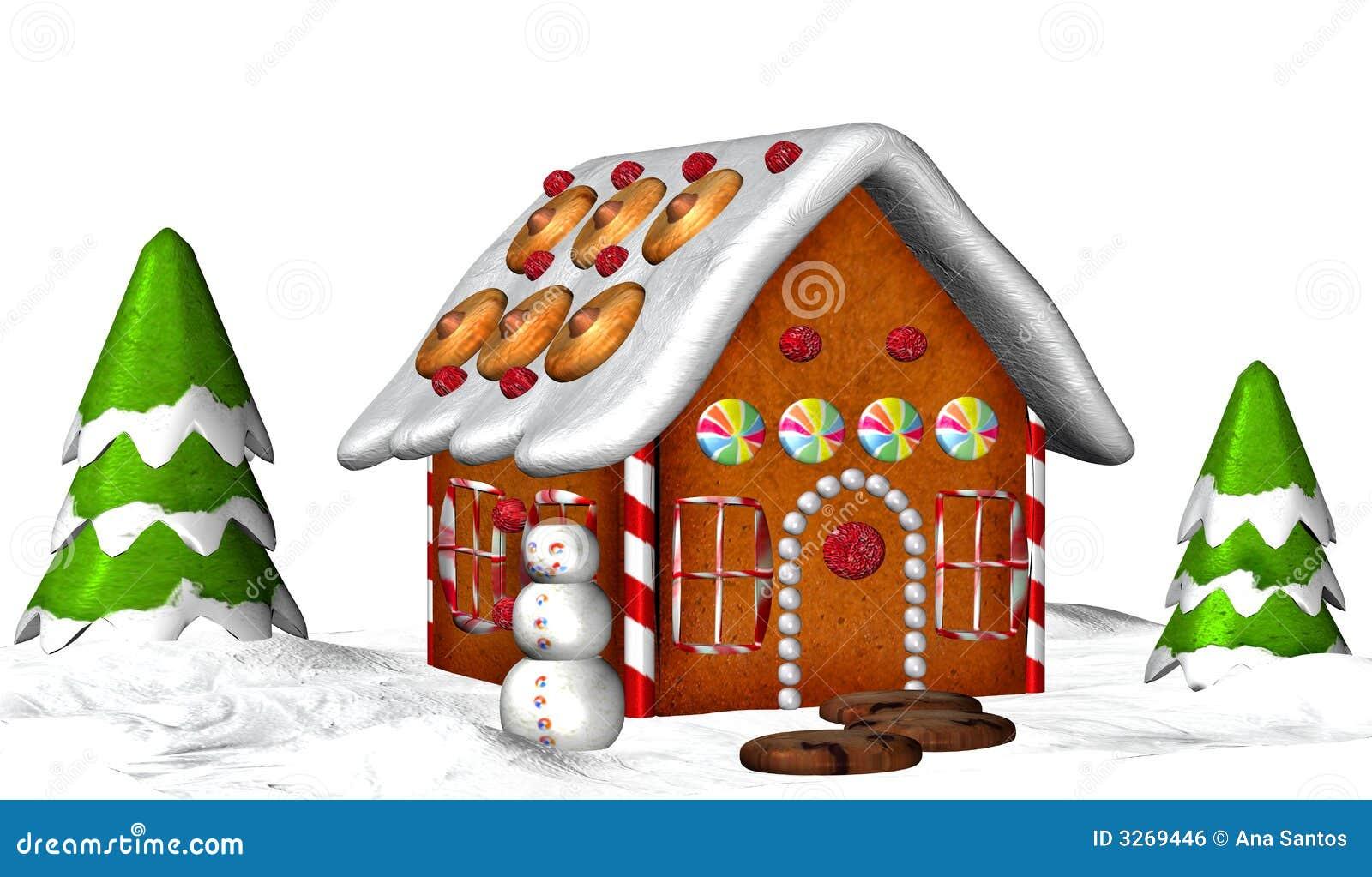 Casa de pão-de-espécie