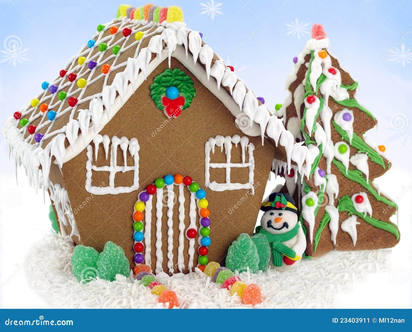 Casa de pan de jengibre imagen de archivo imagen 23403911 for Casa jengibre
