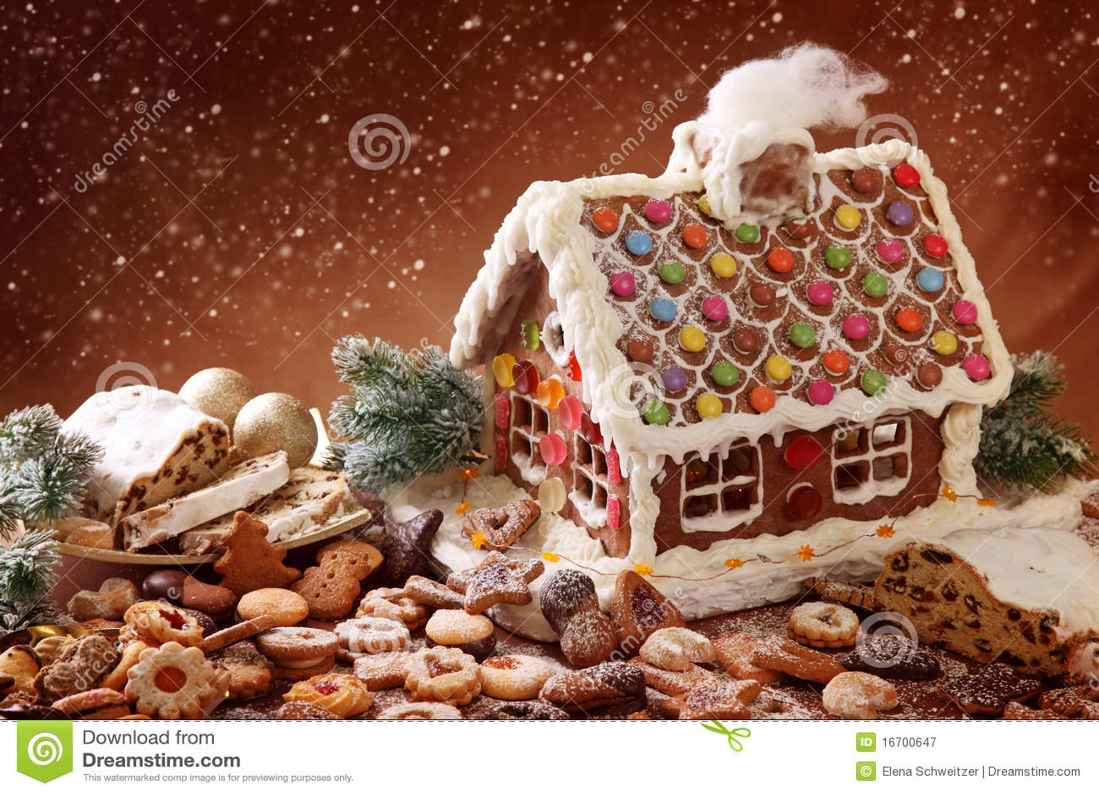 Casa de pan de jengibre hecha en casa fotograf a de for Casa jengibre